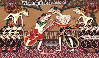 wayang beber asli indonesia