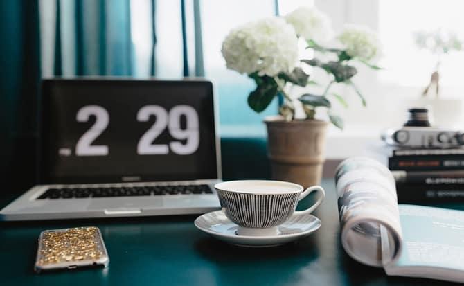 reloj, computadora, trabajo, educación,