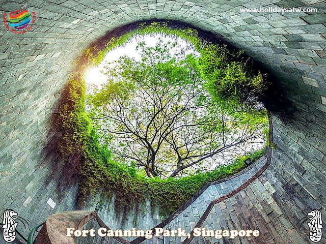 Activities to do in Fort Canning Singapore