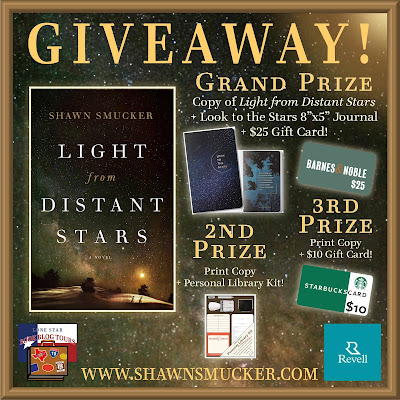 Light from Distant Stars tour giveaway graphic