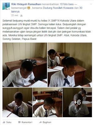 Harapan dan Doa Untuk Anak-anak Kita yang Sedang Ujian Nasional 2