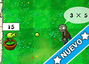 Plants Vs Zombies multiplying test juego