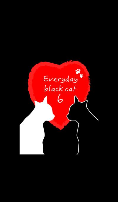 Everyday black cat6