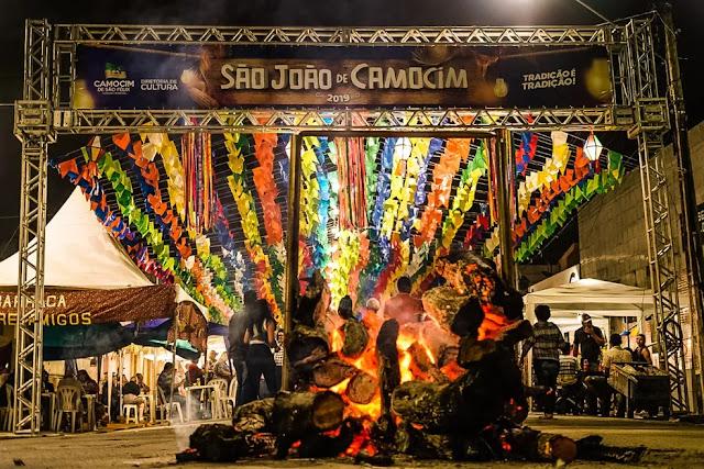 Prefeitura de Camocim orienta para o não acendimento de fogueiras e fogos de artifício no período junino