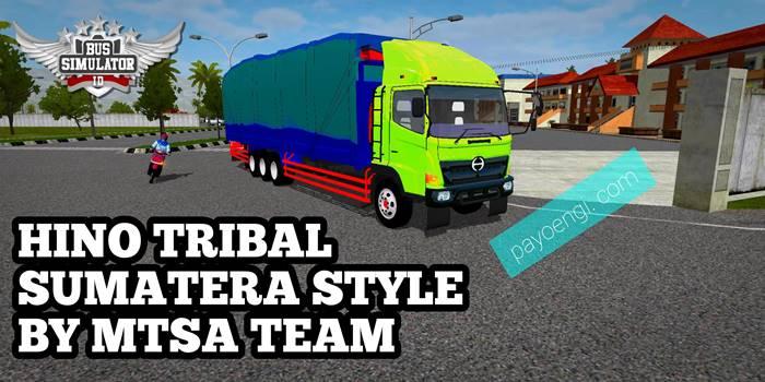 download mod hino 500 tribal sumatera