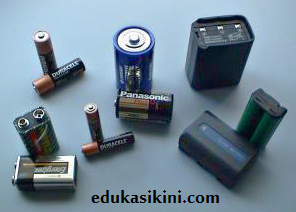Pengertian Baterai serta Jenis Jenis Baterai