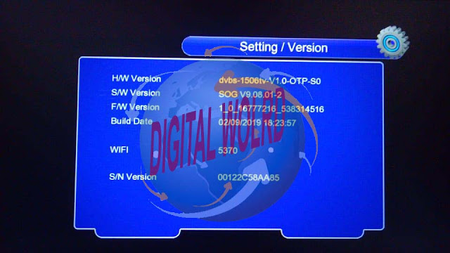DISCOVERY DR-555 X8 HD RECEIVER 1506TV-512-4M-SOG-V9.08.01-2 SOFTWARE