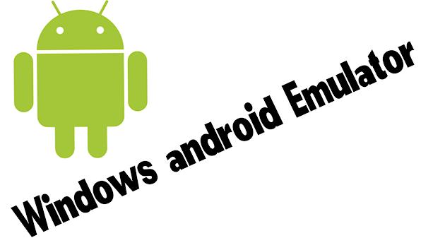 Windows-android-emulator