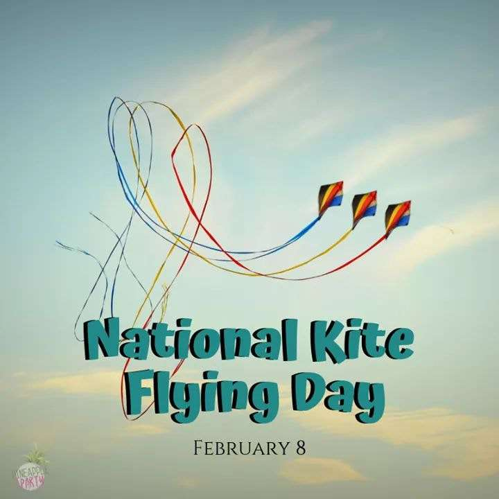 National Kite-Flying Day Wishes Unique Image