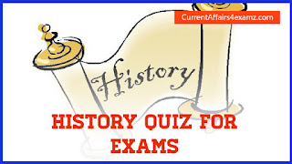 History Quiz for SSC Exams