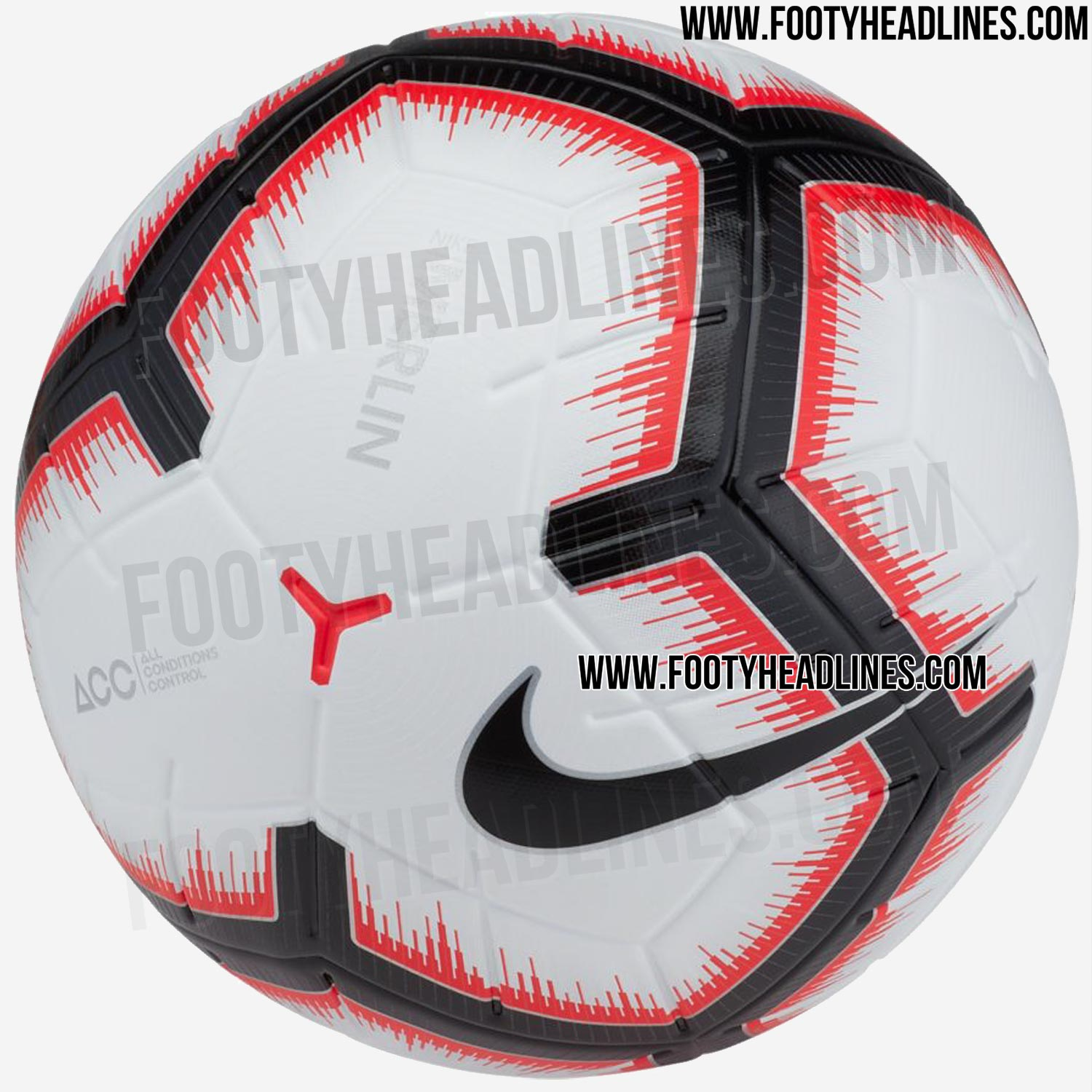 allnew nike merlin 201819 ball revealed first ball