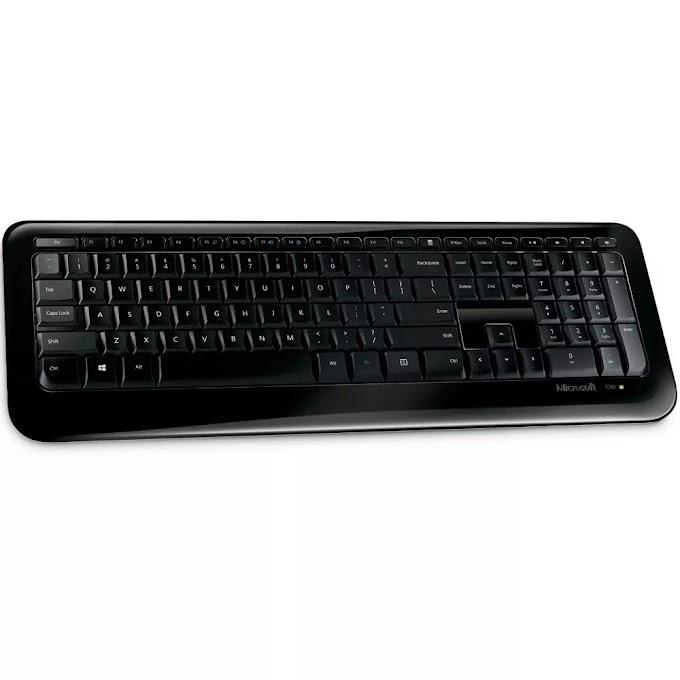 Teclado Sem Fio Microsoft 850, ABNT2 - PZ300005