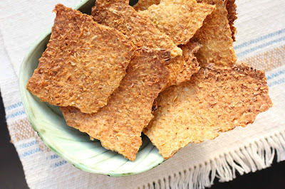 crackers aux grains de ble maison