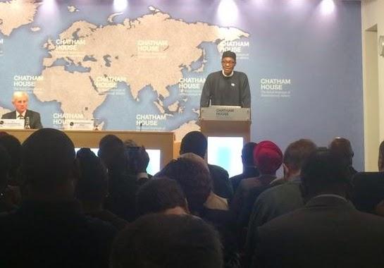 buhari speech video