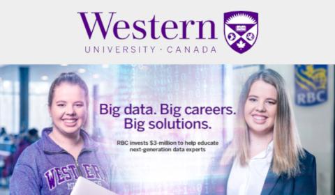 Partenariat RBC et Western University