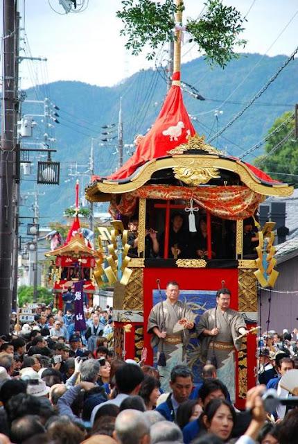 Kameoka Festival, Kameoka City, Kyoto Pref.