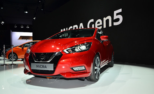 Nissan Micra 2017 hace su presentación oficial en el Paris Motor Show