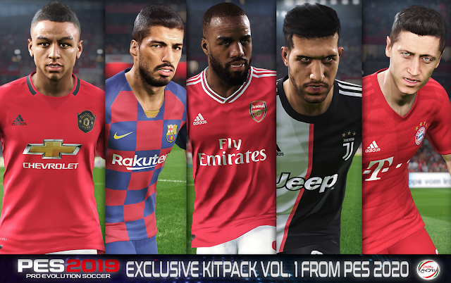 PES 2019 Exclusive Kitpack V1 For Season 19-20 By Sofyan Andri