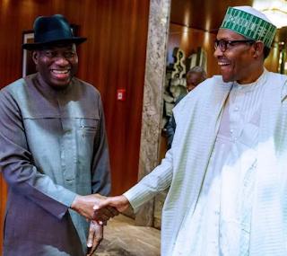 Read President Buhari message to Jonathan on his 62nd birthday