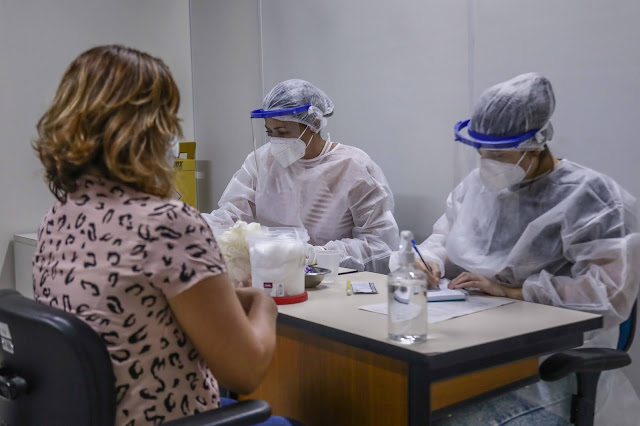 Governo de Pernambuco coloca em funcionamento Centro de Testagem para Covid-19 para profissionais de educação