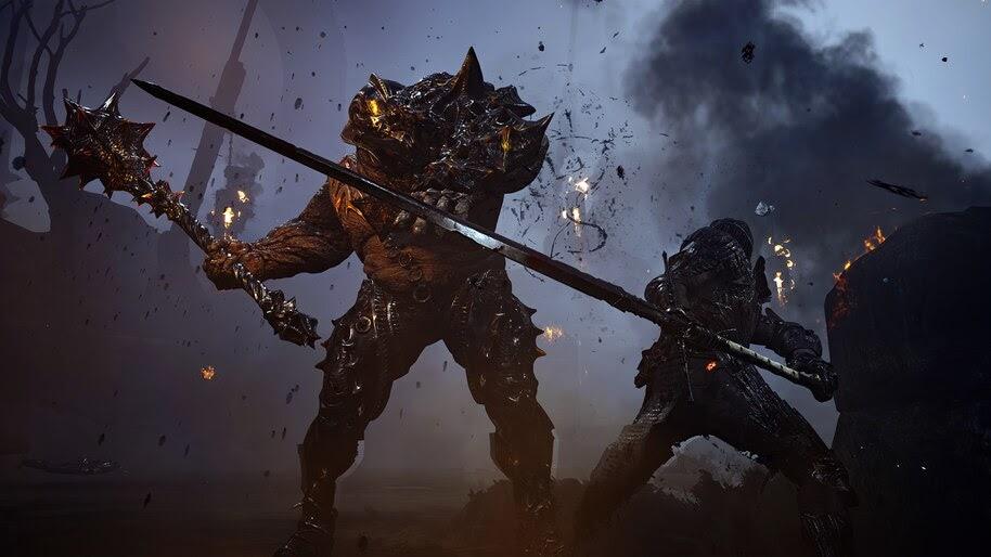 Mortal Shell, Warrior, Battle, 4K, #7.1612