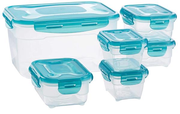 6 contenitori Cucina AmazonBasic