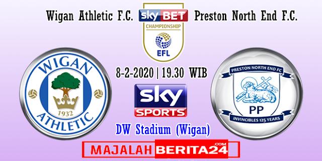 Prediksi Wigan Athletic vs Preston North End — 8 Februari 2020
