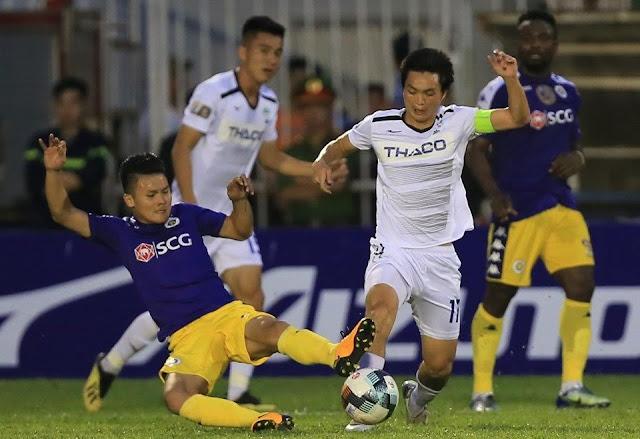 Ban huấn luyện Hà Nội FC thận trọng trước HAGL