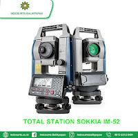 JUAL TOTAL STATION SOKKIA IM-52 SANGATTA | HARGA SPESIFIKASI | GARANSI RESMI | FREE TRAINING