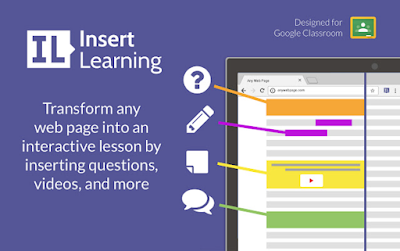 InserLearning Enables Teachers to Turn Web Pages into Interactive Lessons