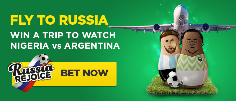 Bet9ja%2Bto%2Brussia%2Bpromos Win a VIP trip to Russia, to watch the Super Eagles play against Lionel Messi & the Argentina at Bet9ja
