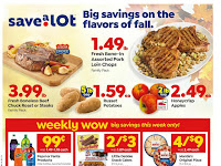 Save a Lot Ad Preview October 28 - November 3, 2020