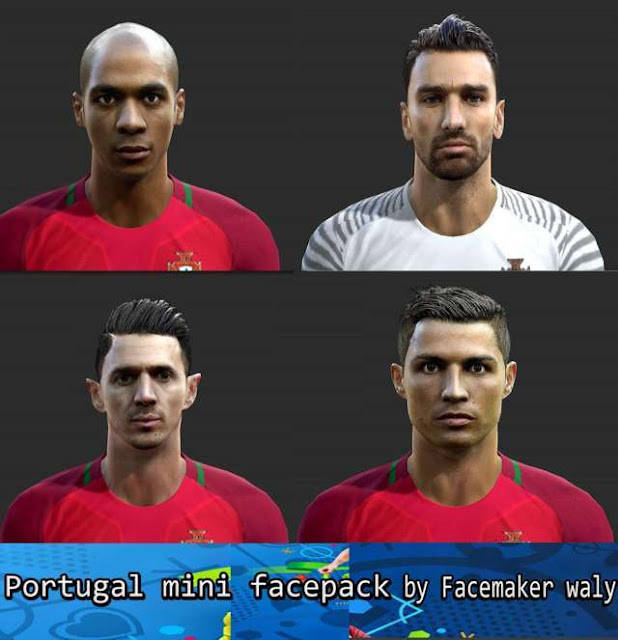 PES 2013 Portugal Facepack