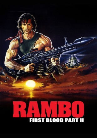 Rambo: First Blood Part II 1985 BRRip 720p Dual Audio