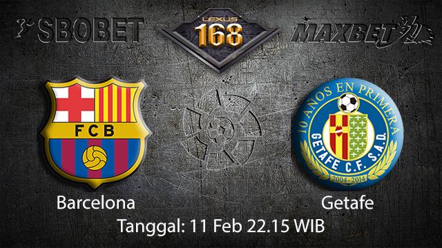 PREDIKSIBOLA - PREDIKSI TARUHAN BOLA BARCELONA VS GETAFE 11 FEBRUARI 2018 ( SPANISH LA LIGA )
