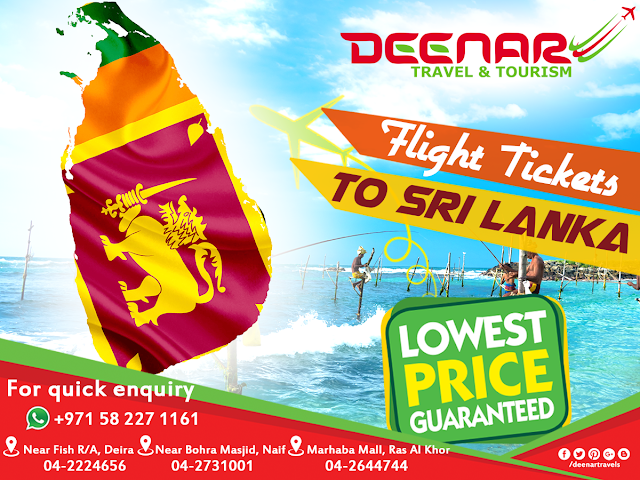 cheap air tickets dubai to srilanka