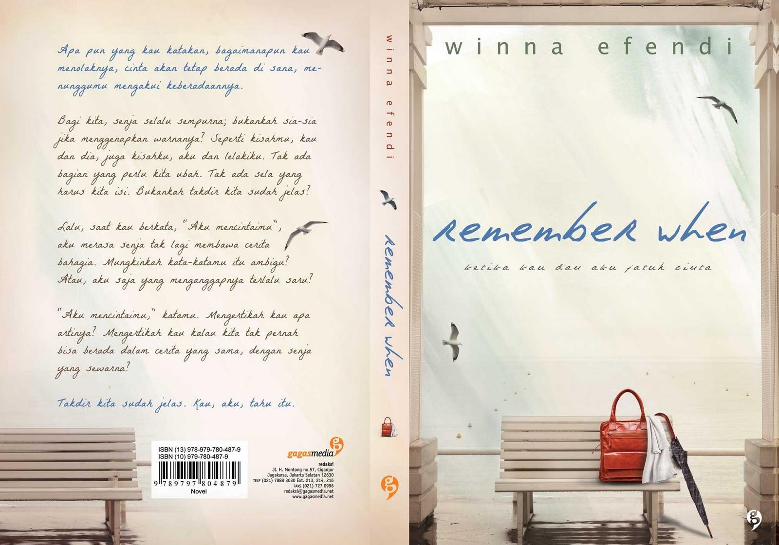 SERBA-SERBI: Kata Kutipan Keren Dari Novel Remember When - Winna