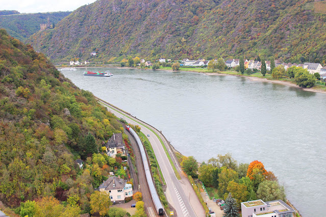 Scenic train journeys of Europe - Rhine Valley Germany