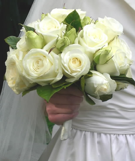 Wedding White Roses: White Rose Wedding Flowers Pictures