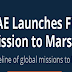 UAE Launches First Mission to Mars #infographic