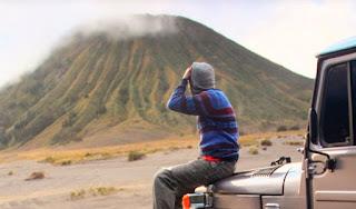 Hamparan Padang Pasir Gunung Bromo