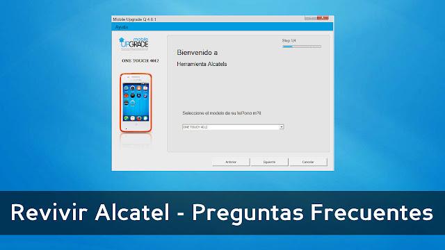 Revivir Alcatel - Preguntas Frecuentes