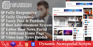 Haber Kağıdı - Dinamik Haber, Dergi ve Blog Portalı Senaryosu