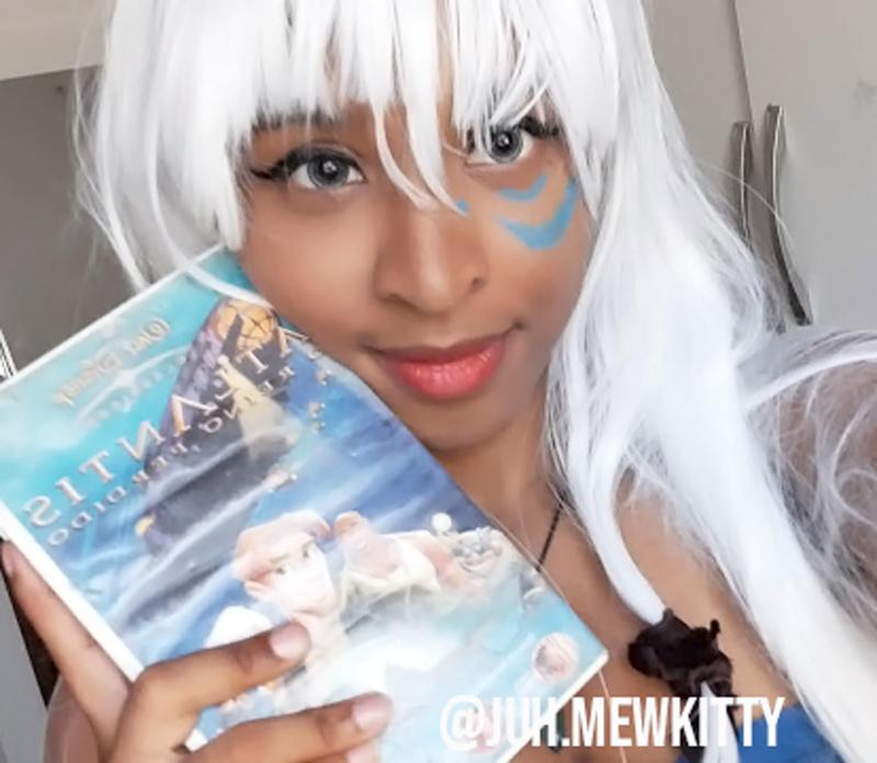 Tentei fazer Cosplay da Kida de Atlantis: Deu certo?