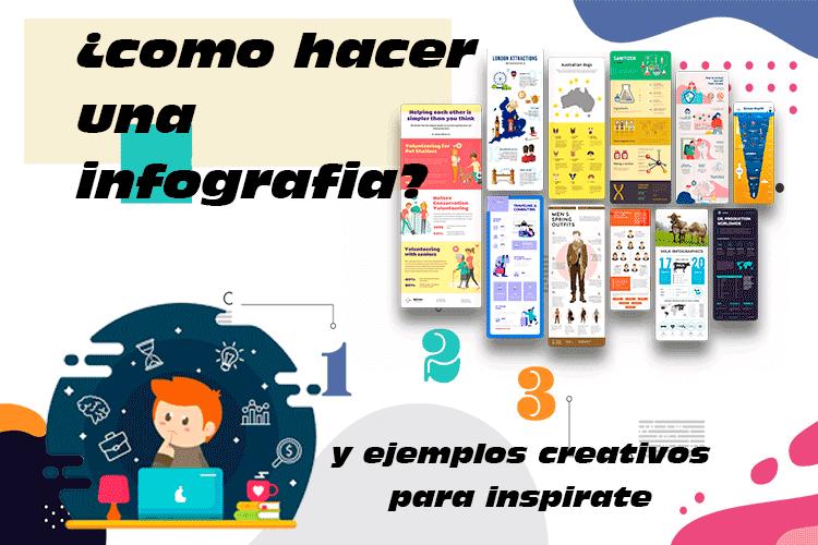 Como hacer una Infografia y ejemplos creativos para inspirarte