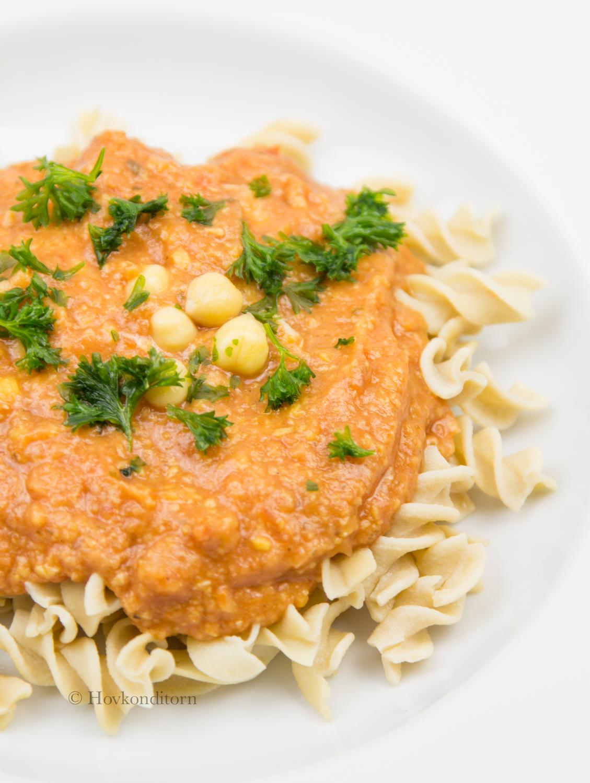 Hovkonditorn: Tomato Chickpea Pasta Sauce