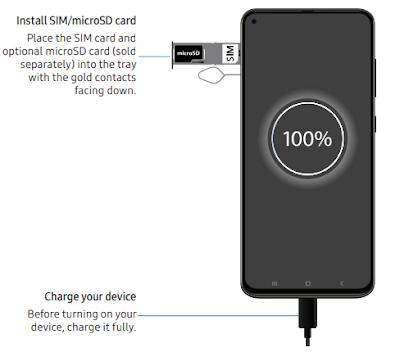 Install SIM/microSD card