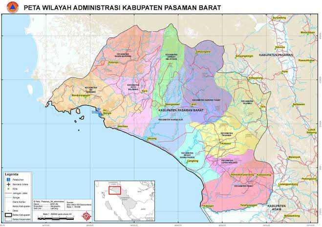 peta kecamatan kinali