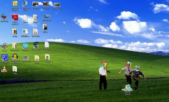 28 Creatively Hilarious Desktop Wallpapers We Wished We Had Thought Of First - Hilarious Internet Explorer Desktop Picture