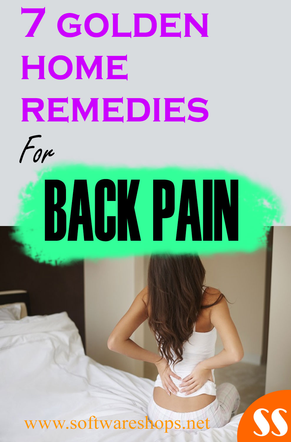 golden home remedies for backpain